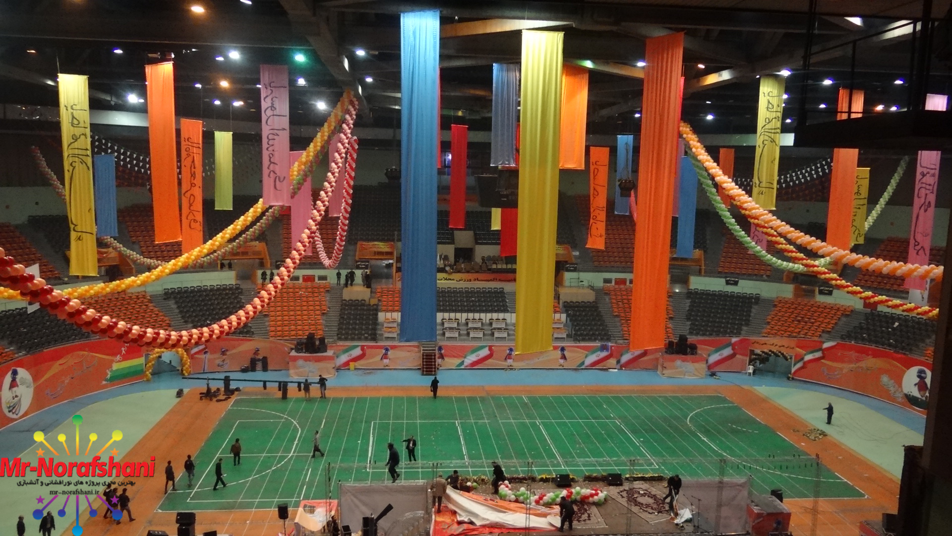 اختتامیه المپیک محلات