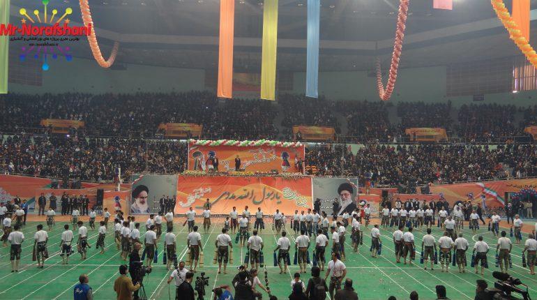 مراسم اختتامیه المپیک محلات